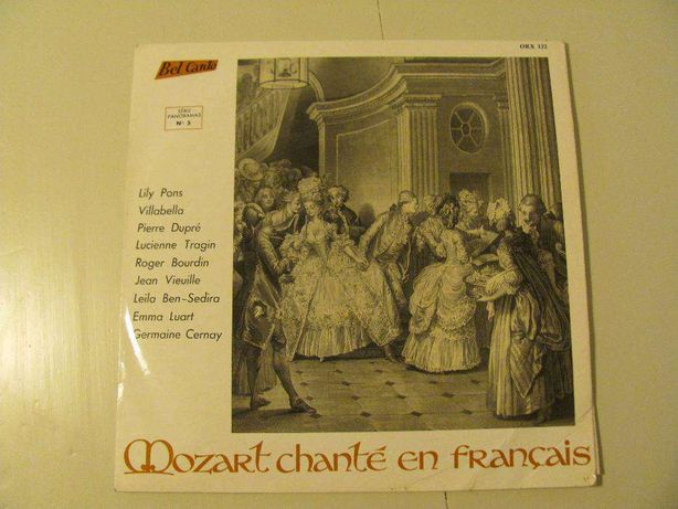 LP Vinil - MOZART Chanté en Français de Guy Dumazert