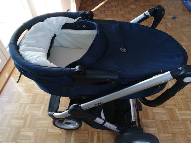 Gondola i śpiworek do wózka wózek mutsy evo 2 w 1