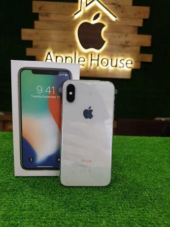 Магазин iPhone X 64 silver гарантия 3 месяца