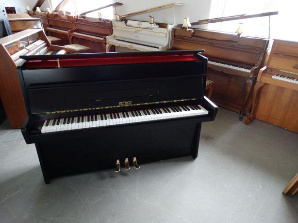pianino petrof CZARNE bdb od PianoDesign