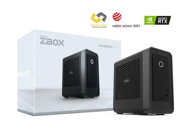 Mocny mini komputer Zotac ZBOX MAGNUS ONE i7-10700/8GB/480 RTX3070