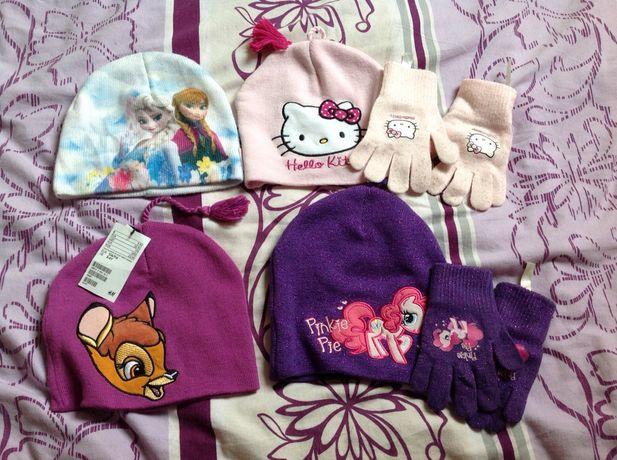 Czapki h&m elsa , kitty, bambi, pinky pie pony
