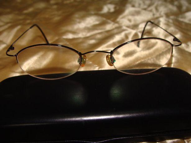 DKNY оригинал Италия винтаж металл очки оправа Donna Karan Carrera