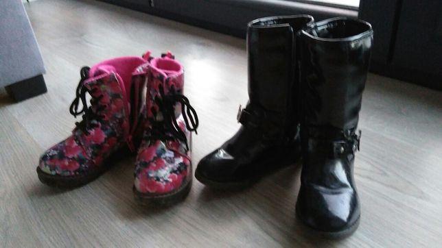 Buty kozaczki na zime rozmiar 27 firmy h&m