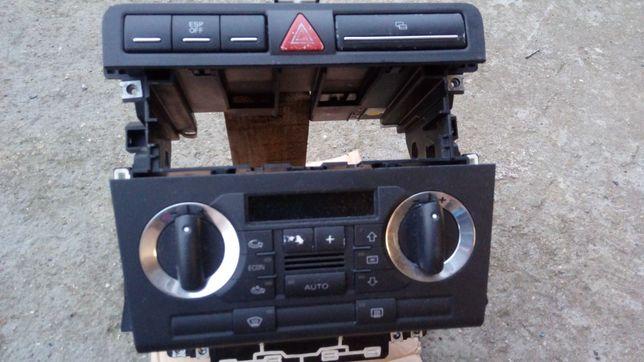 Audi A3 8P konsola środkowa