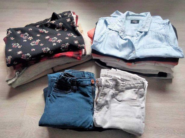 Mega paka ubrań dla dziewczynki 146-152