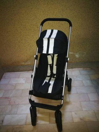 Bebé mobilidade: carrinho + alcofa + ovo + cadeira auto/tudo topo gama
