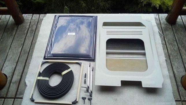 Okno S4P Dometic  uchylne na tylne drzwi do kampera  - nowe.
