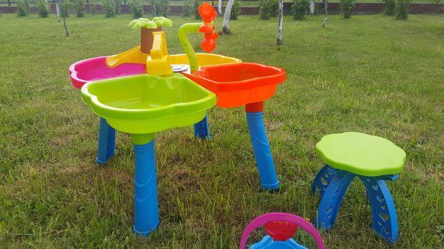 Столик пісочниця песочница РОЗПРОДАЖ !! Игровой песочный столик стіл