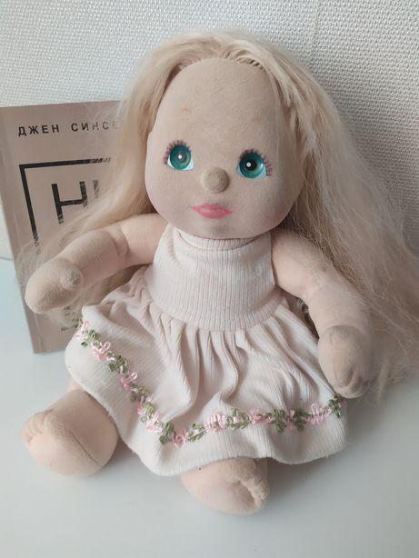 Кукла с набивными волосами