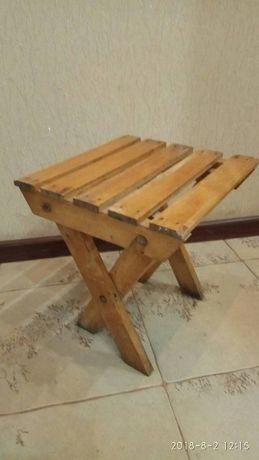 Стільчик розкладний дерев'яний(м. Львів)