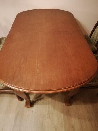 Stół z krzesłami sprzedam