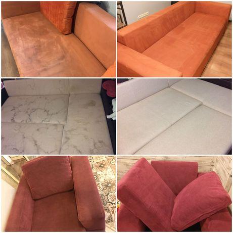 Химчистка диванов, ковров, матрасов