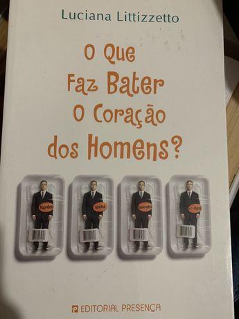 """Livro """"O que faz bater o coração dos homens?"""""""