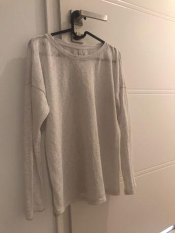 Biały sweterek ZARA