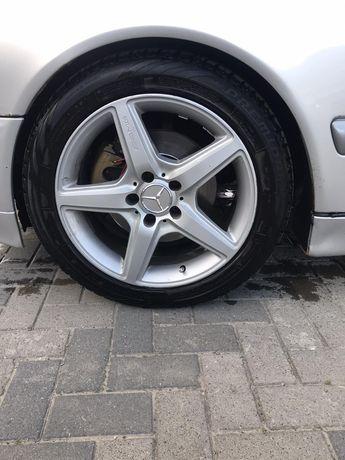 Диски R17 Mercedes AMG с резиной
