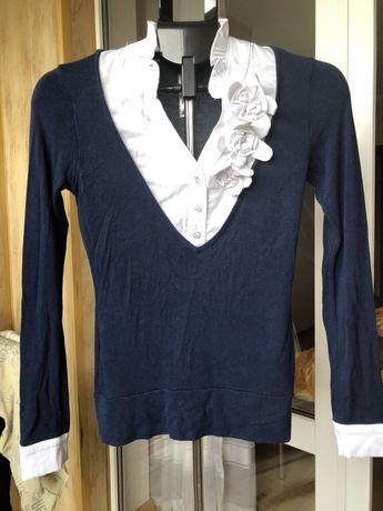 Бесплатно кофта- обманка свитер рубашка блузка
