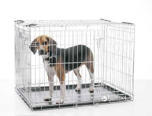 Клітка для собак Savic Dog Residence Medium 76х53х61 см, цинк