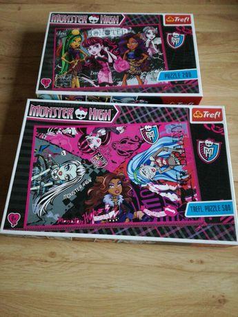 Zestaw puzzle Monster High
