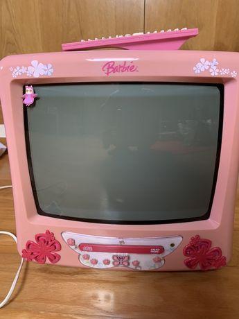 Televisao Barbie para criancas