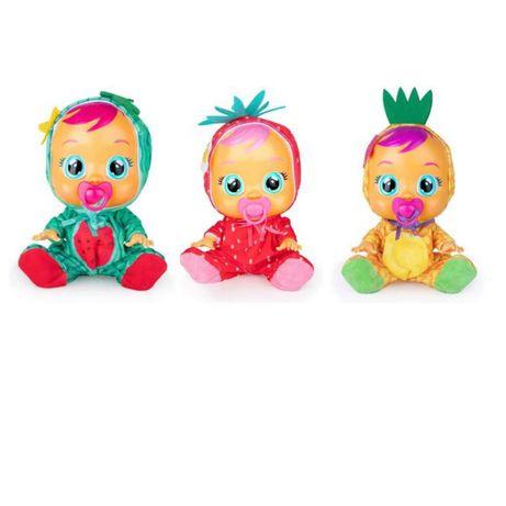 Пупс Cry Babies tutti frutti кукла плакса клубничка арбуз ананас
