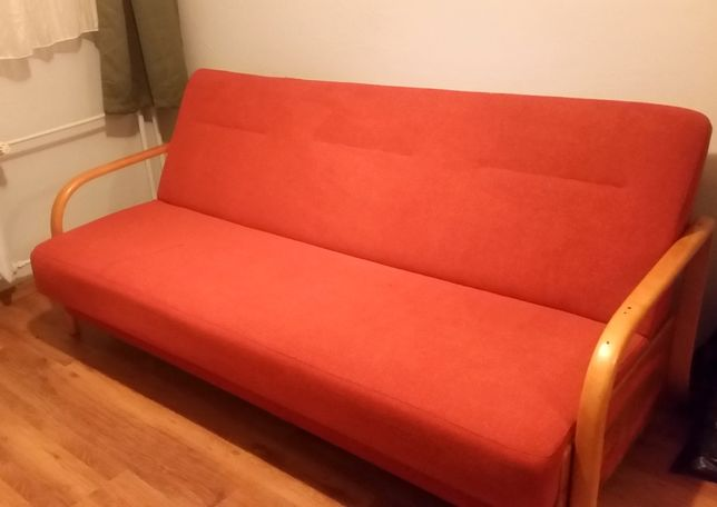 Fotel i tapczan po praniu parowym