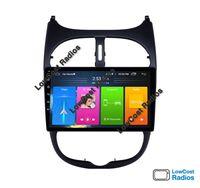 Auto Rádio GPS Peugeot 206 9'' - Android 10 • Multimédia BT USB WIFI
