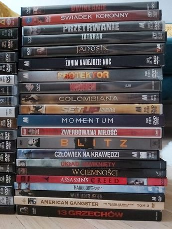 Filmy akcji DVD