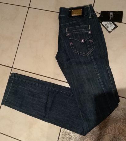 NOWE Spodnie Guccii Jeans.