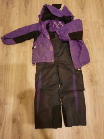 Kurtka narciarska ze spodniami