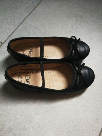 Baleriny buty  28 czarne  17.5 cm