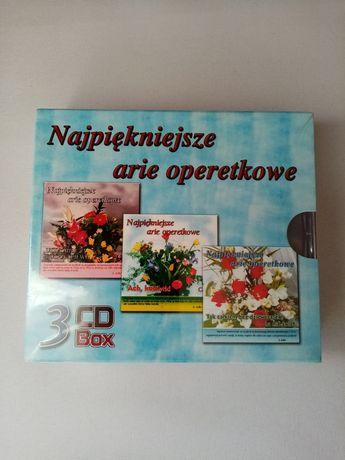 Płyty cd - Najpiękniejsze arie operetkowe