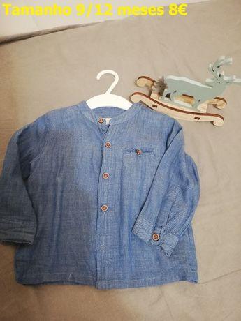 Camisas 9/12 meses