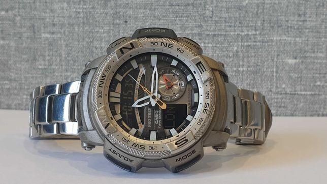 Мужские часы Casio ProTrek PRG-280 Compass 200m