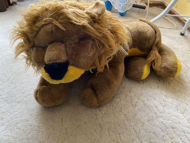 Игрушка лев мягкая