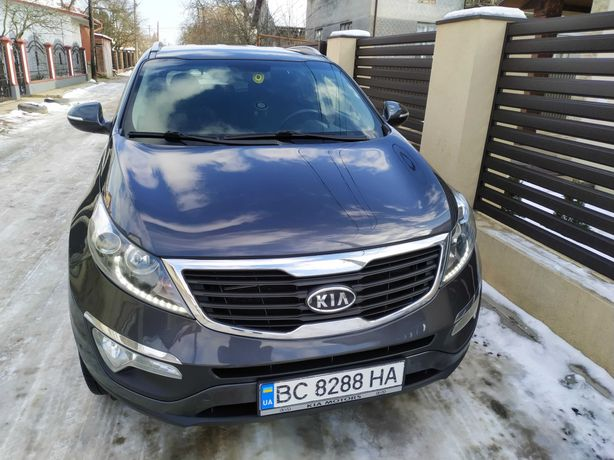 КІА Sportage official 4AWD