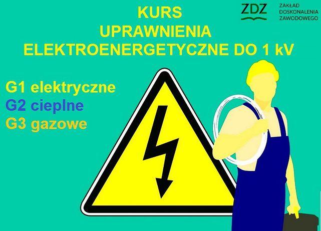 Kurs na Uprawnienia elektroenergetyczne elektryczne elektryk palacz