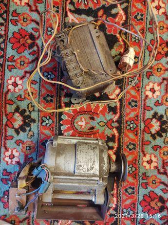 Трансформатор  понижающий. Электродвигатель СССР
