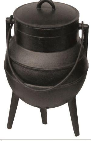 Panela ferro fundido tipo portuguesa de 1lt até 30lt