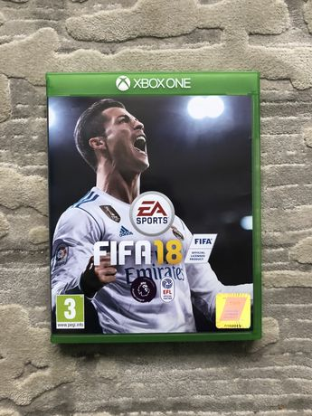 X-box one game fifa 18 2018 игра на иксбокс ван фифа