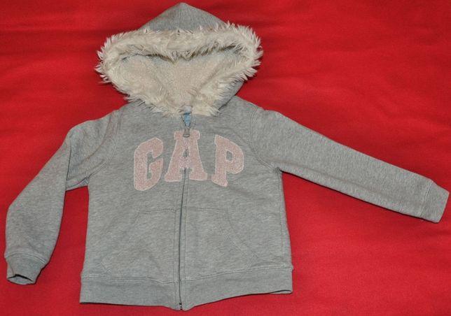 Bluza GAP - 3-4 lata ( 104-110 ), ciepła kurtka, kardigan, sweter
