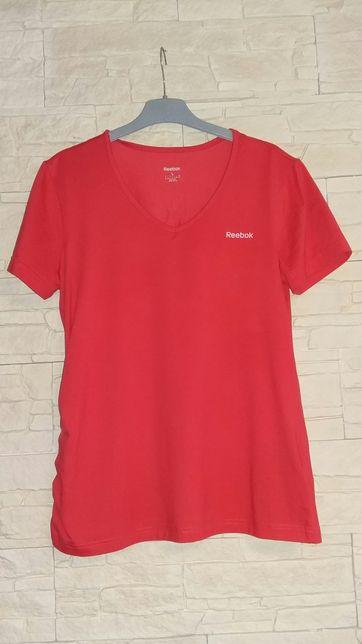 Bluzka sportowa Reebok L czerwona