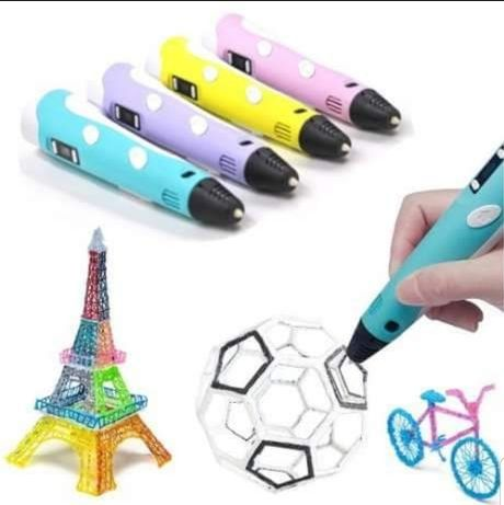3D-ручка для рисования+Пластик PLA
