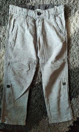 Spodnie lniane 116 H&M