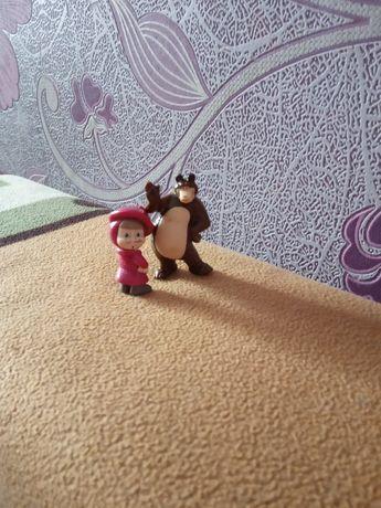 Маша и медведь игрушка.