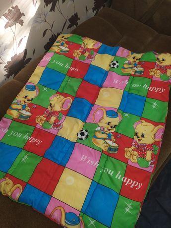 Одеяло детское тёплое синтепон