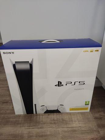 PlayStation 5 Nowa Zaplombowana z napędem BLURAY
