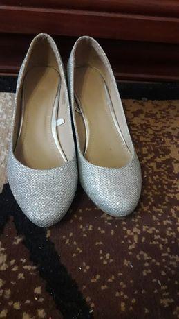 Серебряные туфельки для вашей принцессы!!!