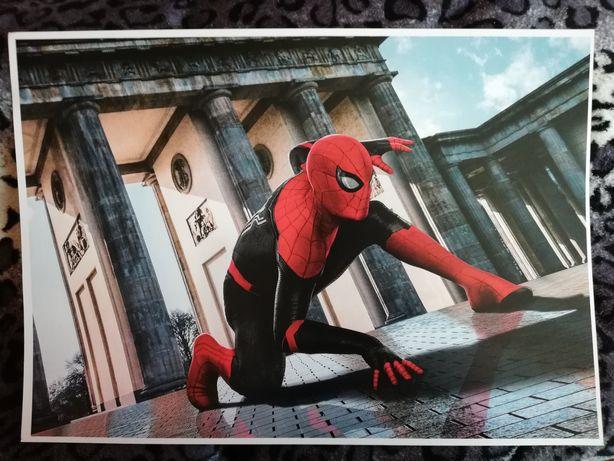 plakat a3 duży spider man peter parker bajka film