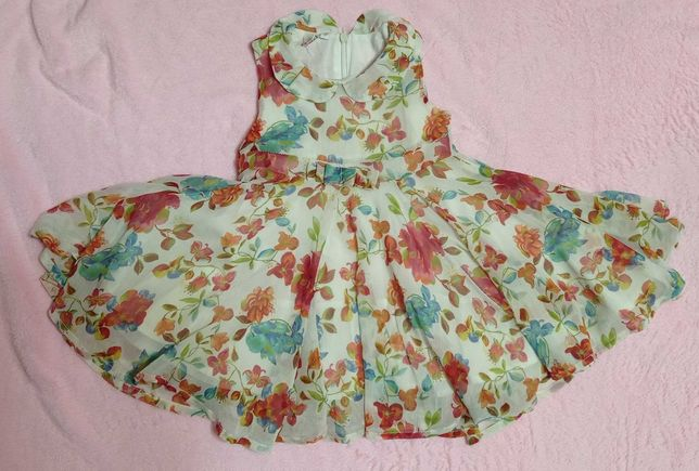 Літнє плаття для дівчинки